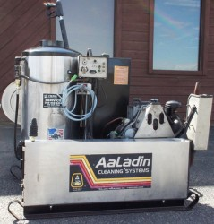 Premium Aaladin Diesel Engine 3000PSI Pressure Washer Skid Used, Tested Good