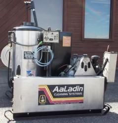 Premium Aaladin Diesel Engine 3000PSI Pressure Washer Skid Used, Tested Good