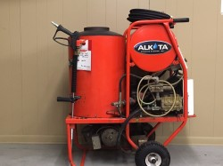 Alkota 4302 Hot Electric / Diesel 3000PSI Pressure Washer Used, Tested Good