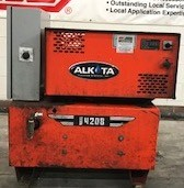 Alkota 4208 ALL ELECTRIC 2000PSI Hot Pressure Washer Used, Tested Good