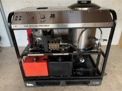 Alkota / All America 5GPM @ 3500PSI Hot Pressure Washer Skid Used, Tested Good
