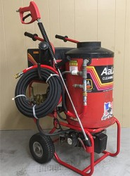 Aaladin Hot Electric / Diesel 1200PSI Pressure Washer Used, Tested Good