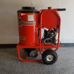 Alkota 2142A Hot Electric / Diesel 1450PSI Pressure Washer Used, Tested Good