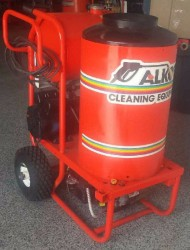 Alkota Hot Electric / Diesel 1450PSI Pressure Washer Used, Tested Good
