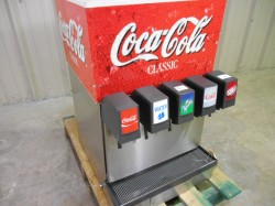 5 Head Refrigerated Soda Fountain Dispenser Used, Tested Good