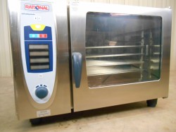 Rational SCC 62 Convection Steam Oven Used, Not Tested