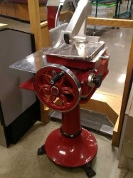 """Berkel 330M Fly Wheel Slicer 13"""" Knife On Stand / Flawless Used, Tested Good"""