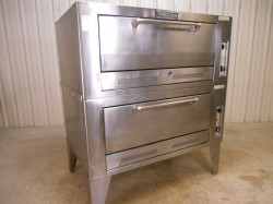 Vulcan Gas Double Deck Pizza Bread Oven Used, Not Tested