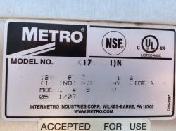 Clean Used Metro Cm2000 C175 16 Heated Food Holding