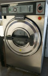 Continental 35 Pound On Premise Laundry Washer / Very Clean Used, Tested Good