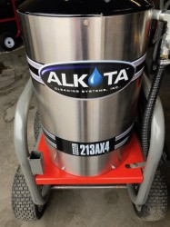 Demo Alkota 213AX4 1500PSI Hot Pressure Washer Never Used, Tested Good