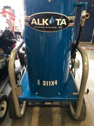 Demo Alkota 311X4 1100PSI Hot Pressure Washer Never Used, Tested Good