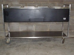 Duke 4-Well Electric Steam Table Used, Tested Good