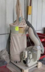 Extrema 2HP DC-120 Portable Dust Collector Used, Tested Good