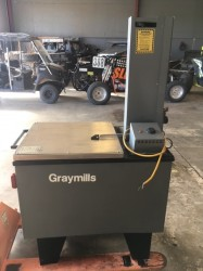 Graymills Heated Aqueous Top Load Parts Washer Used, Tested Good