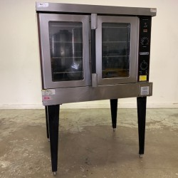 Hobart 1PH HEC5 Single Electric Convection Oven on Stand Used, Tested Good