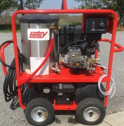 Hotsy 1060SSE Gas / Diesel 3000PSI Hot Pressure Washer Used, Tested Good