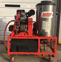 Hotsy 1270SSG Gas/Diesel 4000PSI Pressure Washer Never Used, Tested Good