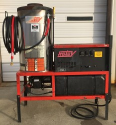Hotsy 1423SS Electric / Diesel 3000PSI Hot Pressure Washer Used, Tested Good
