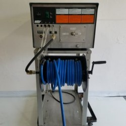 Hotsy 1710SS 1000PSI Cold Pressure Washer On Stand W/Reel Never Used, Tested Good