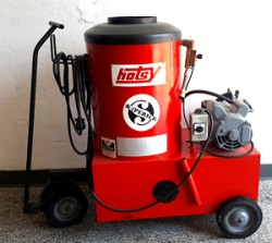 Hotsy 510 115V / Diesel 1000PSI Hot Pressure Washer Used, Tested Good