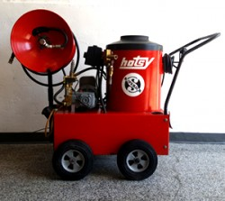 Hotsy 550 115V / Diesel 1000PSI Hot Pressure Washer Used, Tested Good