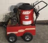 Hotsy 550b 115V / Diesel 1000PSI Hot Pressure Washer Used, Tested Good