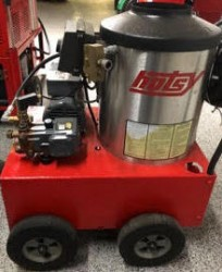 Hotsy 555SS 1300PSI Hot Pressure Washer Used, Tested Good