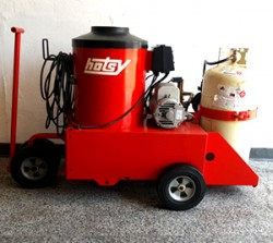 Hotsy 558 110V / Propane Hot 1300PSI Pressure Washer Used, Tested Good