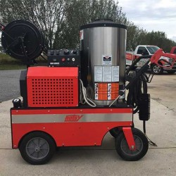 Hotsy 851SS 3000PSI Hot Pressure Washer & Reel Used, Tested Good