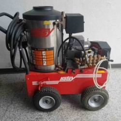Hotsy 895SS Electric / Diesel 3000PSI Hot Pressure Washer Used, Tested Good