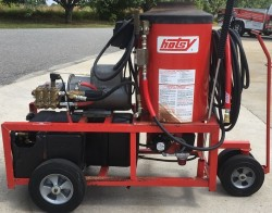 Hotsy 970 Electric / Diesel 2000PSI Hot Pressure Washer Used, Tested Good