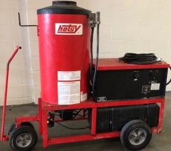 Hotsy 980A Electric / Diesel 2000PSI Hot Pressure Washer Used, Tested Good