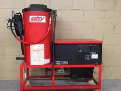 Hotsy 981A Natural Gas 2000PSI Hot Water Pressure Washer Used, Tested Good