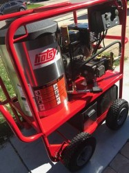 Hotsy Gas/Diesel 3500PSI Hot Pressure Washer 68 HOURS! Used, Tested Good