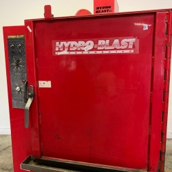 Hydro-Blast Heated Aqueous Front Load Parts Washer Used, Tested Good