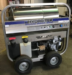 Hydro Tek 4000PSI Hot Pressure Washer/ ONLY 170 HOURS Used, Tested Good