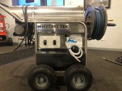HydroTek Pro 1400PSI Hot Pressure Washer & Steamer Used, Tested Good
