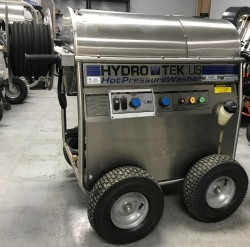 HydroTek HD 1500PSI 115 Volt / Diesel Hot Pressure Washer Used, Tested Good