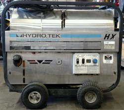 Hydro Tek HX Electric / Diesel 2100PSI Hot Pressure Washer Used, Tested Good