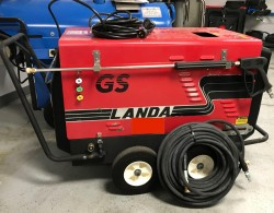 Landa 2-1000GS 115 Volt / Diesel Hot Pressure Washer Used, Tested Good