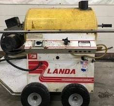 Landa Electric / Diesel 1000PSI Hot Pressure Washer Used, Tested Good