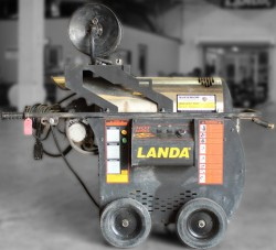 Landa Hot 2 1500PSI 115 Volt / Diesel Hot Pressure Washer Used, Tested Good