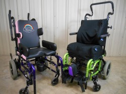 San Marcos Electric >> Used 2 Child Wheelchairs: Zippie by Quickie / Gizmo by ...