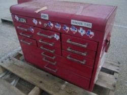 Lyon 12 Drawer Tool Chest Box Top Used