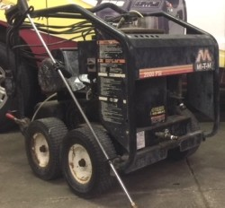 Mi-T-M GH2003 Electric / Diesel 2000PSI Hot Pressure Washer Used, Tested Good