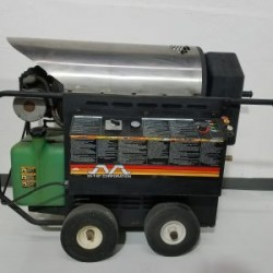 Mi-T-M Hot Electric / Diesel 1000PSI Pressure Washer Used, Tested Good