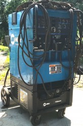 Miller Syncrowave 250DX TIG Welder Used, Tested Good