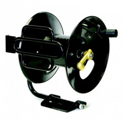 New Legacy 200' Steel Fixed Base High Pressure Hose Reel Never Used, Tested Good