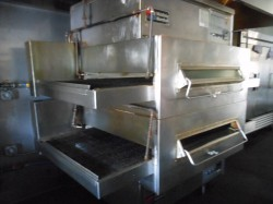Middleby Marshall PS360 Gas Double Conveyor Pizza Oven Used, Tested Good